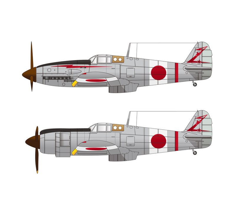 竹田五郎大尉機を描く(未完): 空のカケラ ライブラリ 篠原直人ブログ