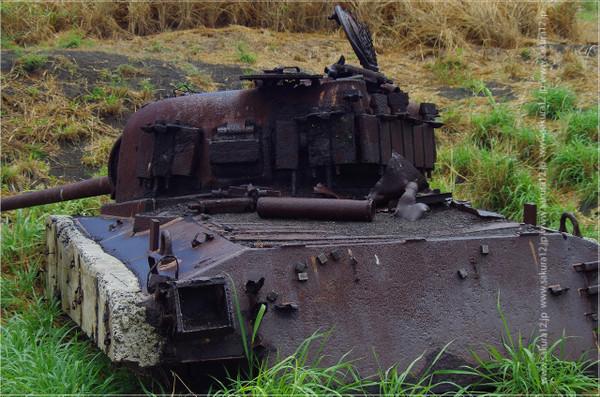 硫黄島 M4シャーマン戦車