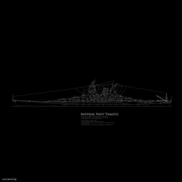 戦艦大和イラスト