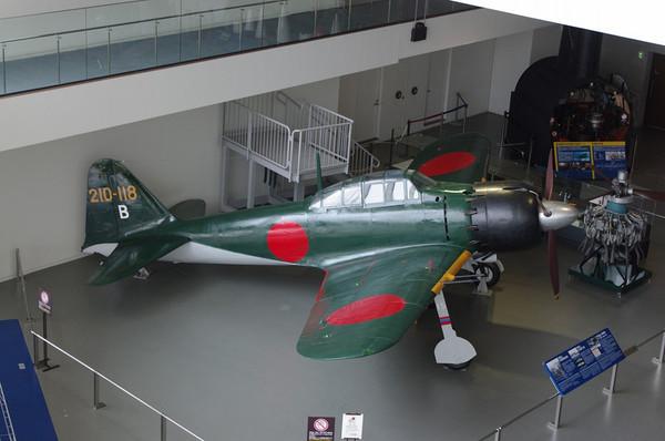 大和ミュージアムの零戦六二型