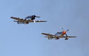 零戦とP-51