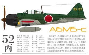 ゼロ戦(零戦)52型丙/五二型丙