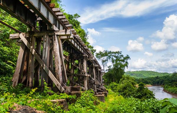 ビルマ木橋