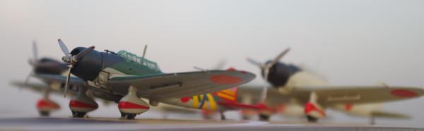 江草隆繁少佐の九九式艦上爆撃機