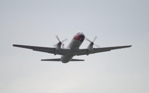 YS-11飛行点検隊宇都宮へ