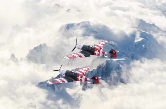 Bf-109 スイス機