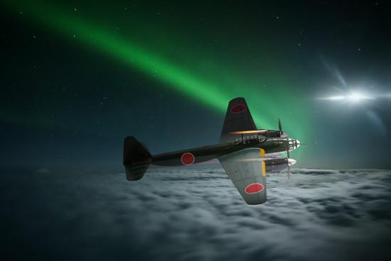 夜間戦闘機「極光」
