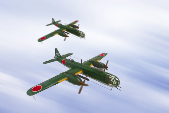 「泰山」陸上攻撃機