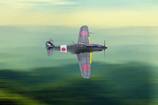 三式戦「飛燕」飛行第56戦隊 古川治良少佐機